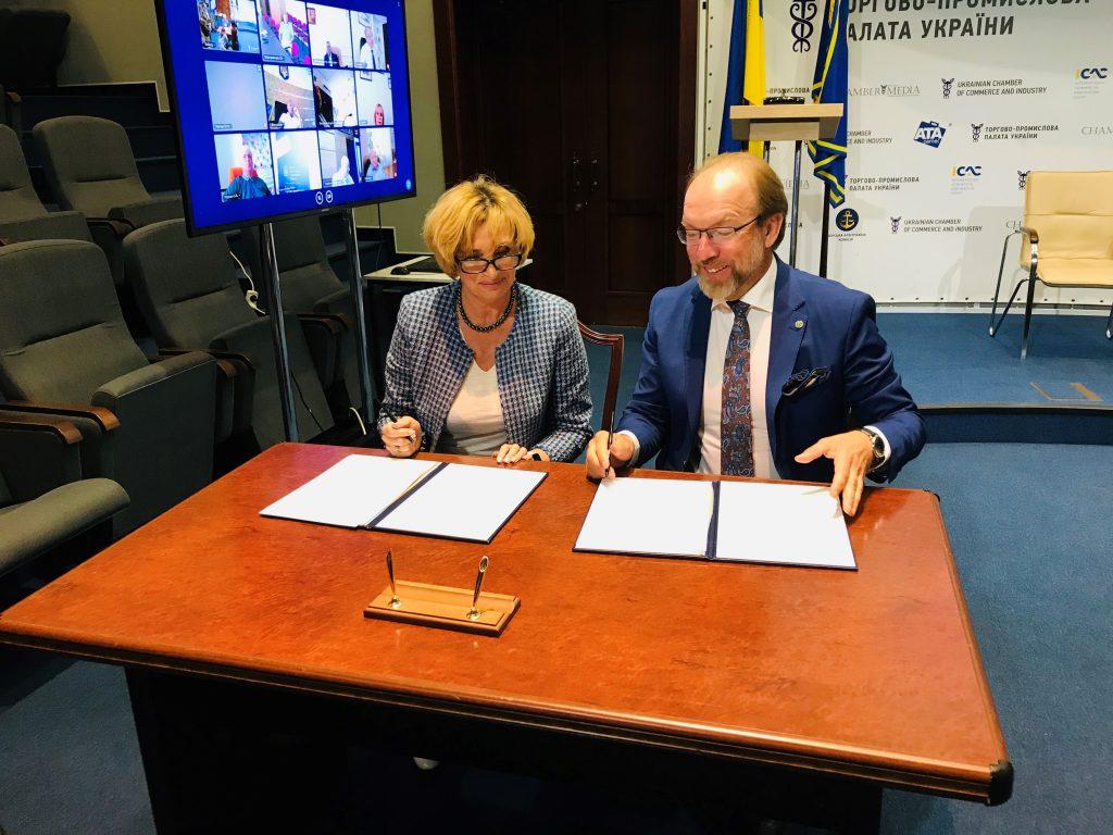 ЕКА та ТПП України підписали Меморандум про співробітництво