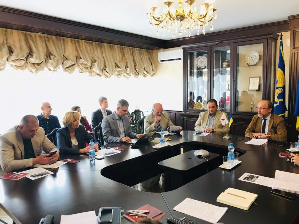 Керівництво ПрАТ «Експортно-кредитного агентства» зустрілося з Надзвичайним та Повноважним Послом України в Японії